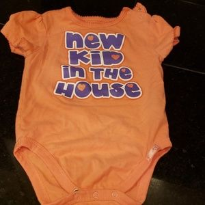 Children's place 6-9 month onesie